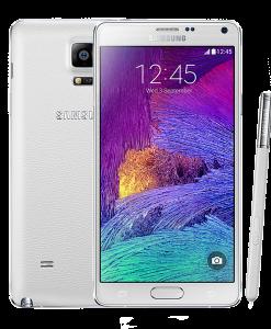 SamsungNote4-white