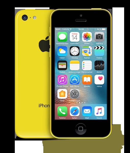 iPhone5C Yellow